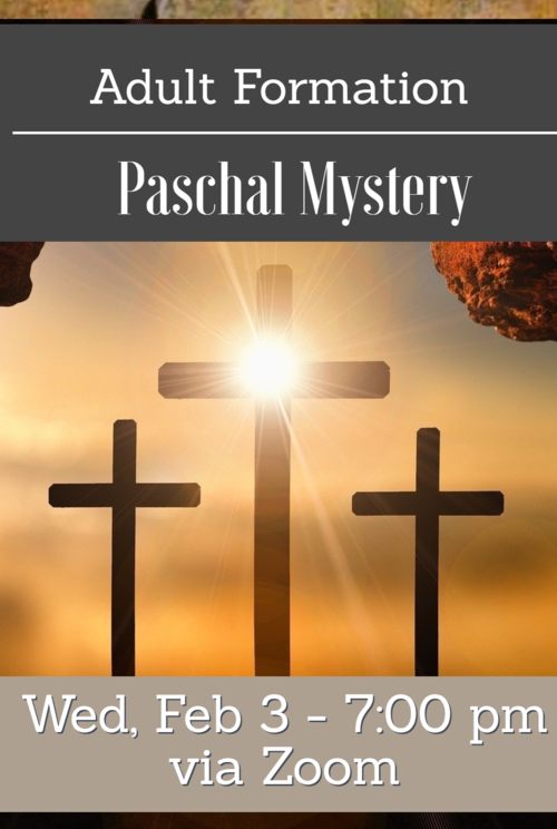 0 Adult Bible Study Ad Paschal Mystery