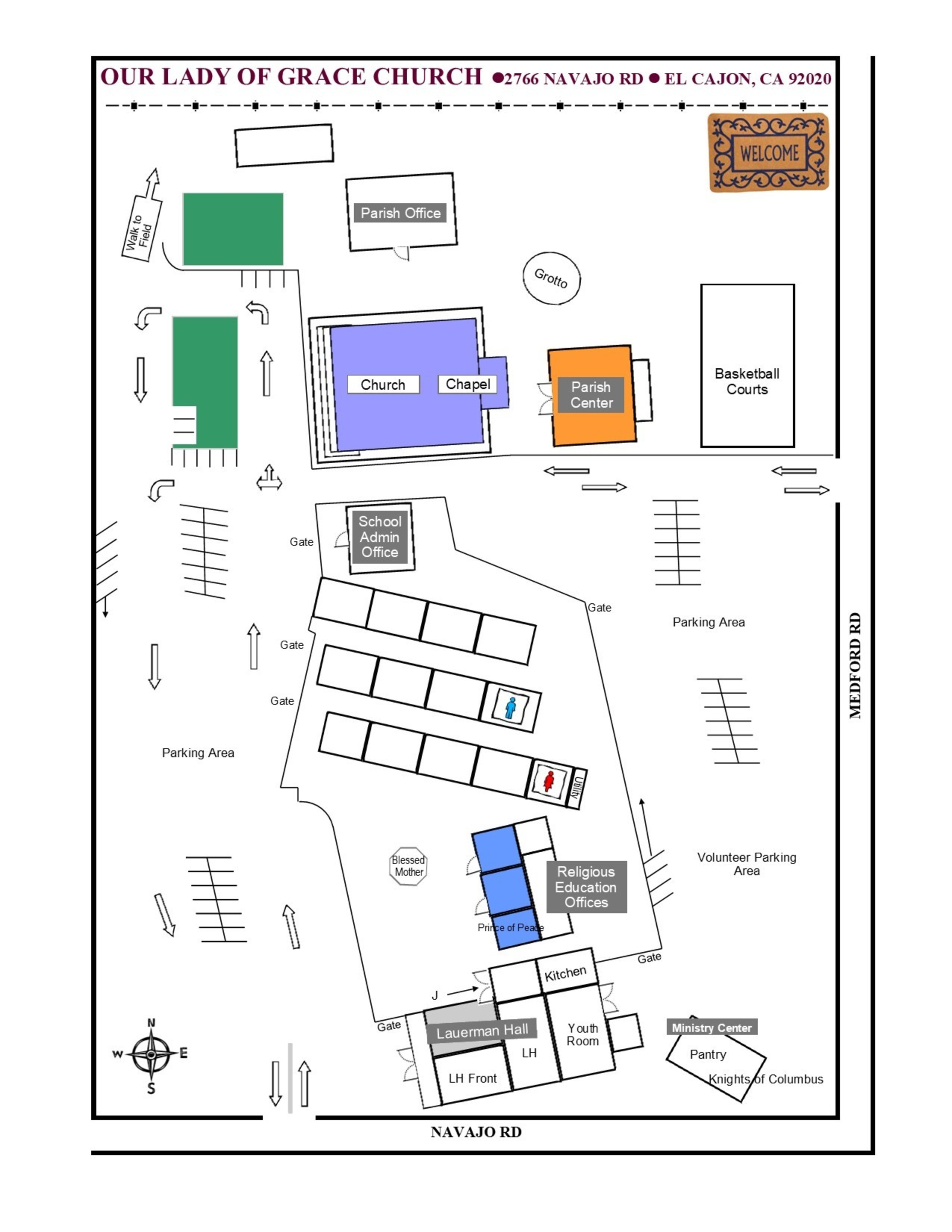 2020 Rev Church Grounds Map