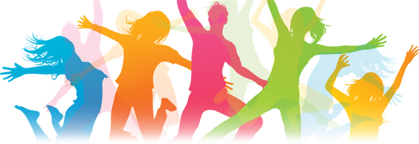 78196 Zumba Dancing Graphics Illustration Vector Church Folks