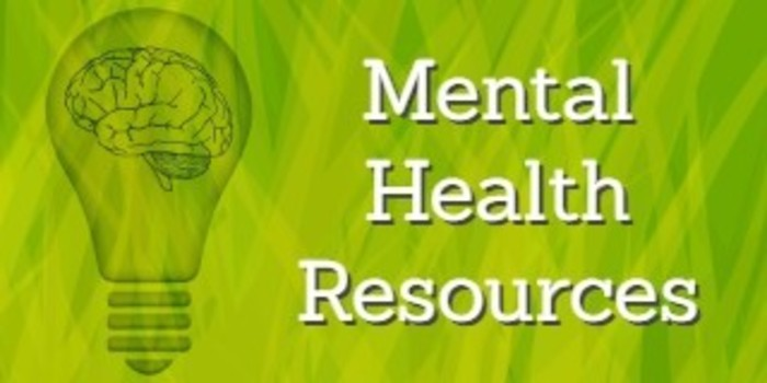 Mental Health Resources Rev