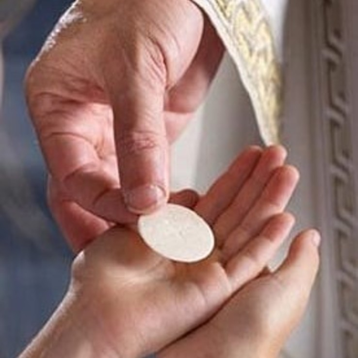 Communion In Hand Sq