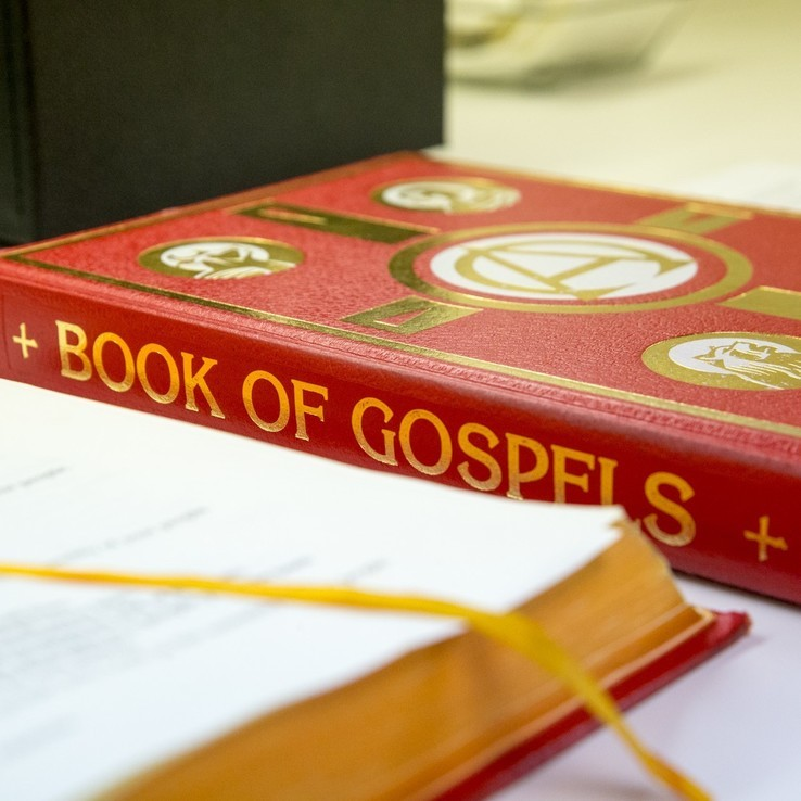 Ecatholic Stock Photo 112 Book Of The Gospels Sq